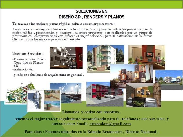 Plaza libre servicios de arquitectura artson dominicana - Servicios de arquitectura ...