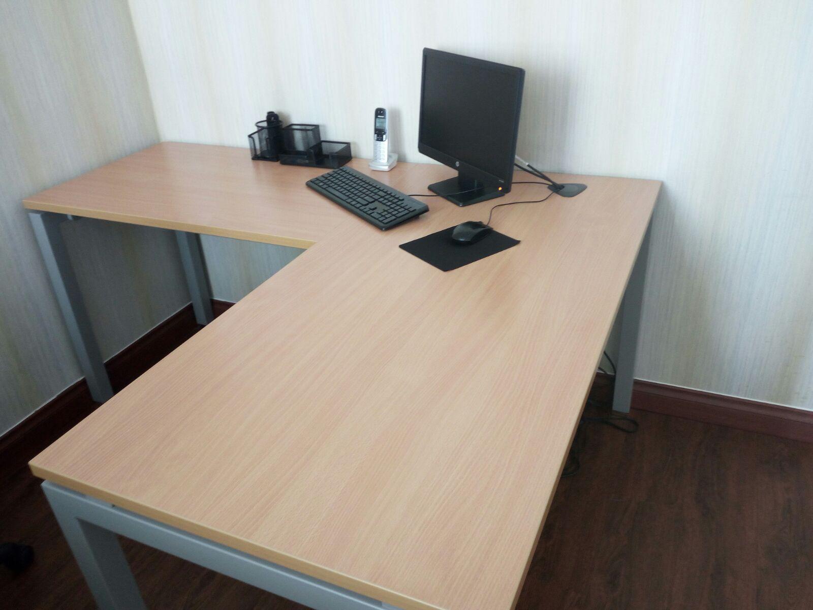 Muebles De Oficina De Madera.Plaza Libre Muebles Oficina Estaciones Modulares Madera Y