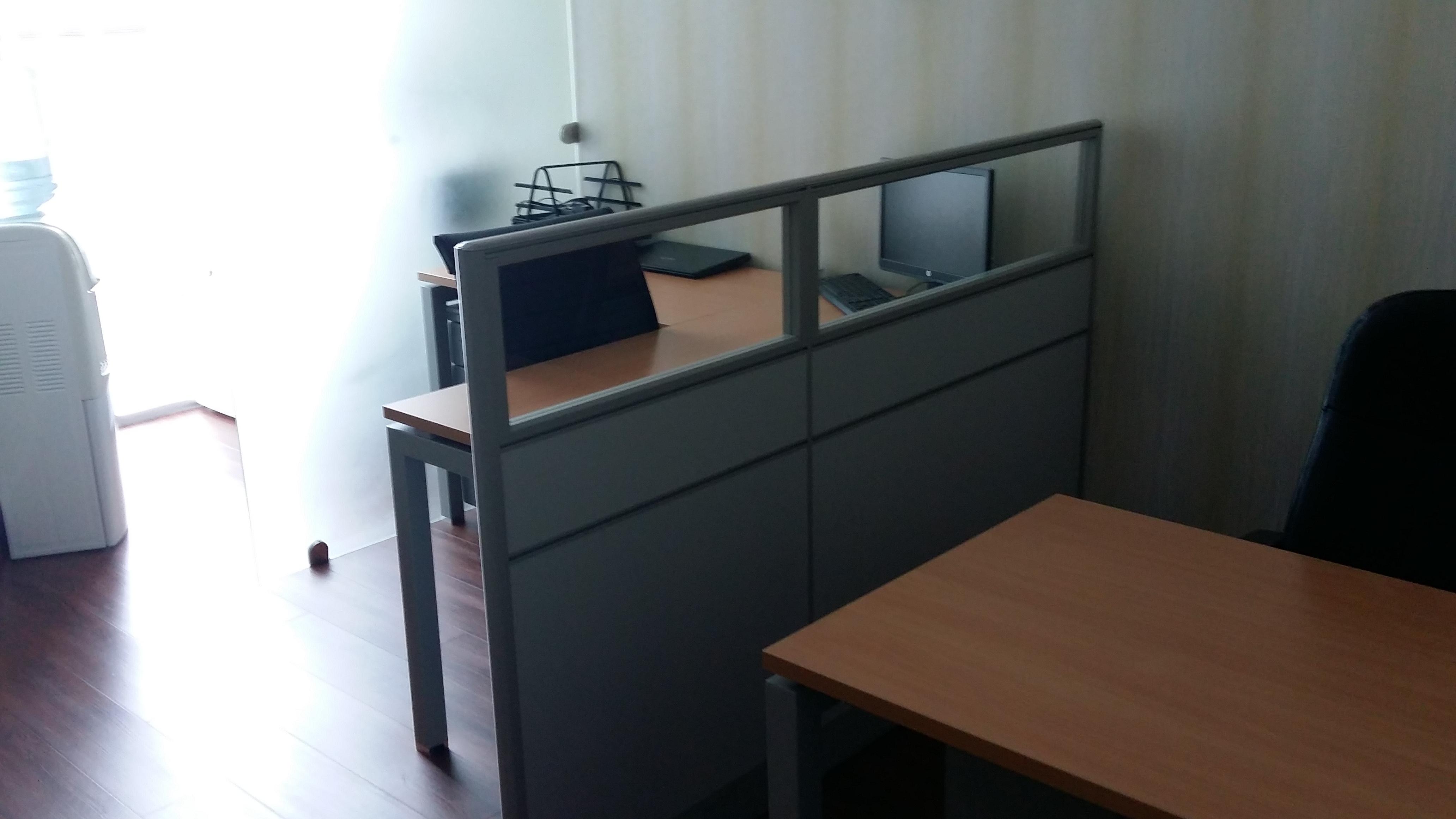 plaza libre muebles oficina estaciones modulares madera
