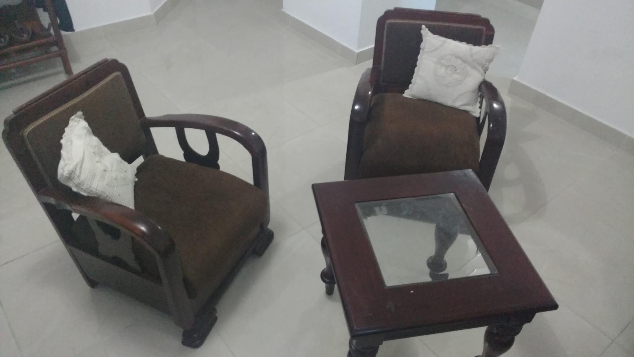 Plaza Libre Juego De Muebles En Caoba # Muebles De Caoba